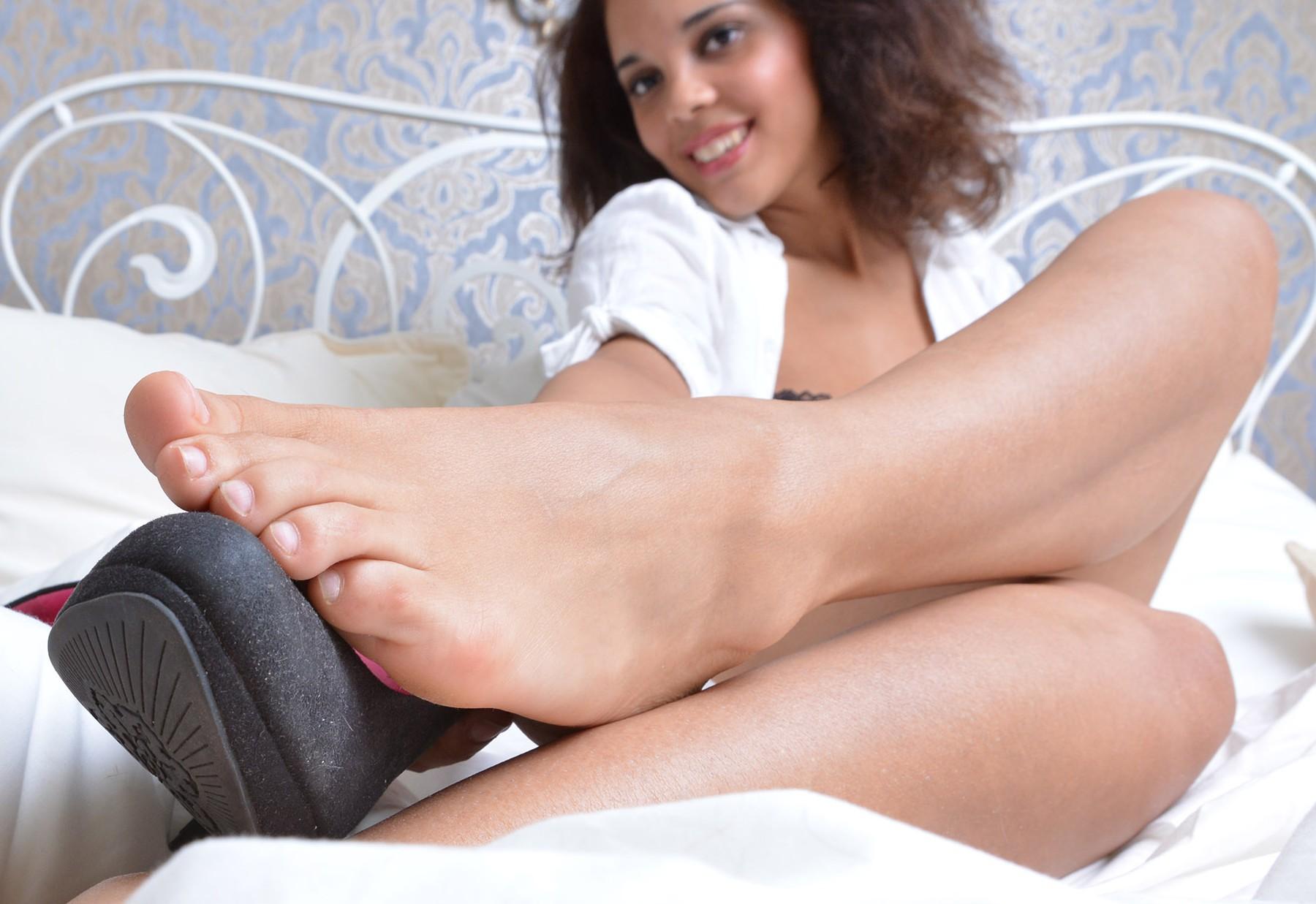 Tashas süße große Füße