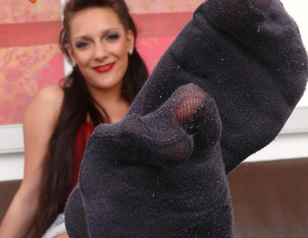 Sie will dass du an ihren Socken riechst