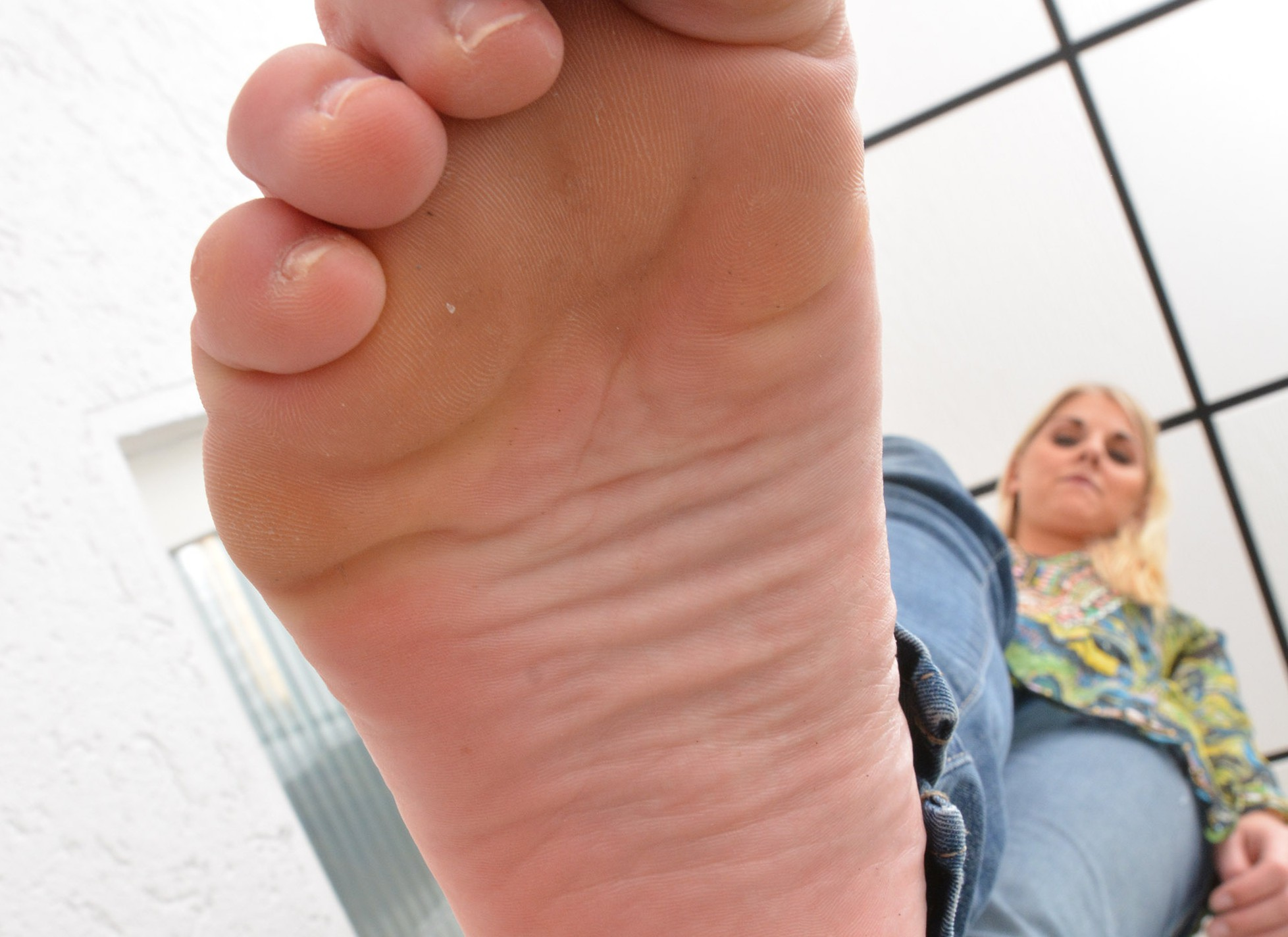 Unter Melinas Füßen