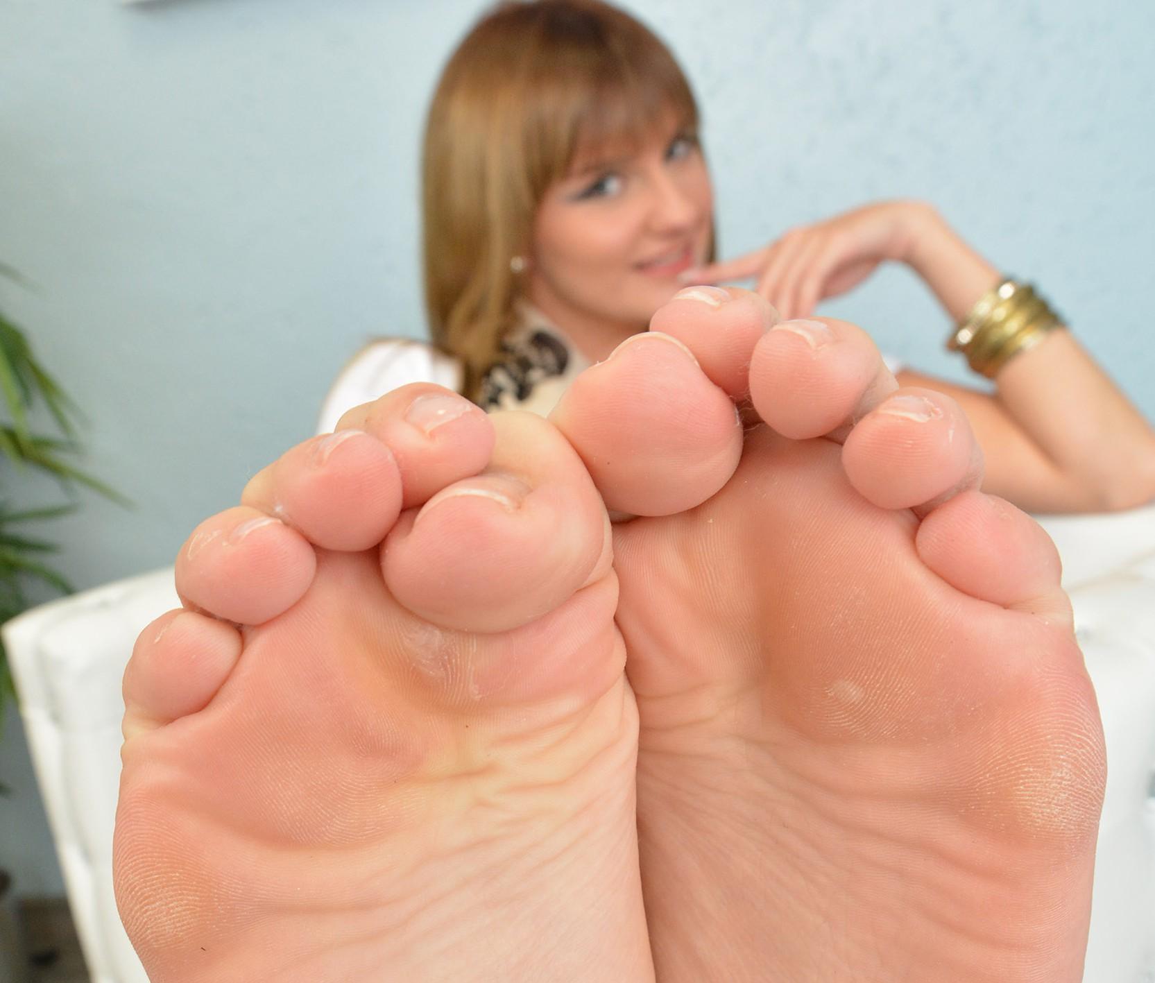 Angeliques Füße