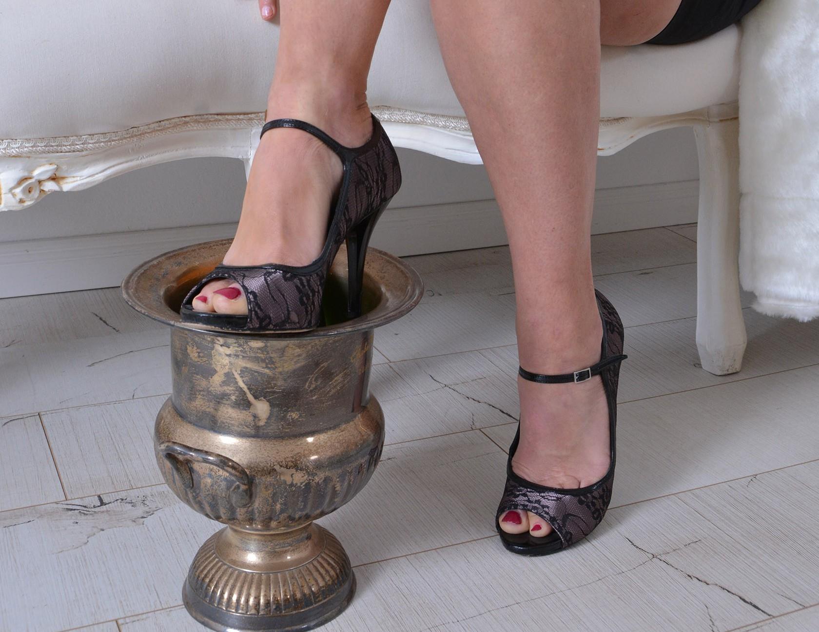 Die Heels einer Lady