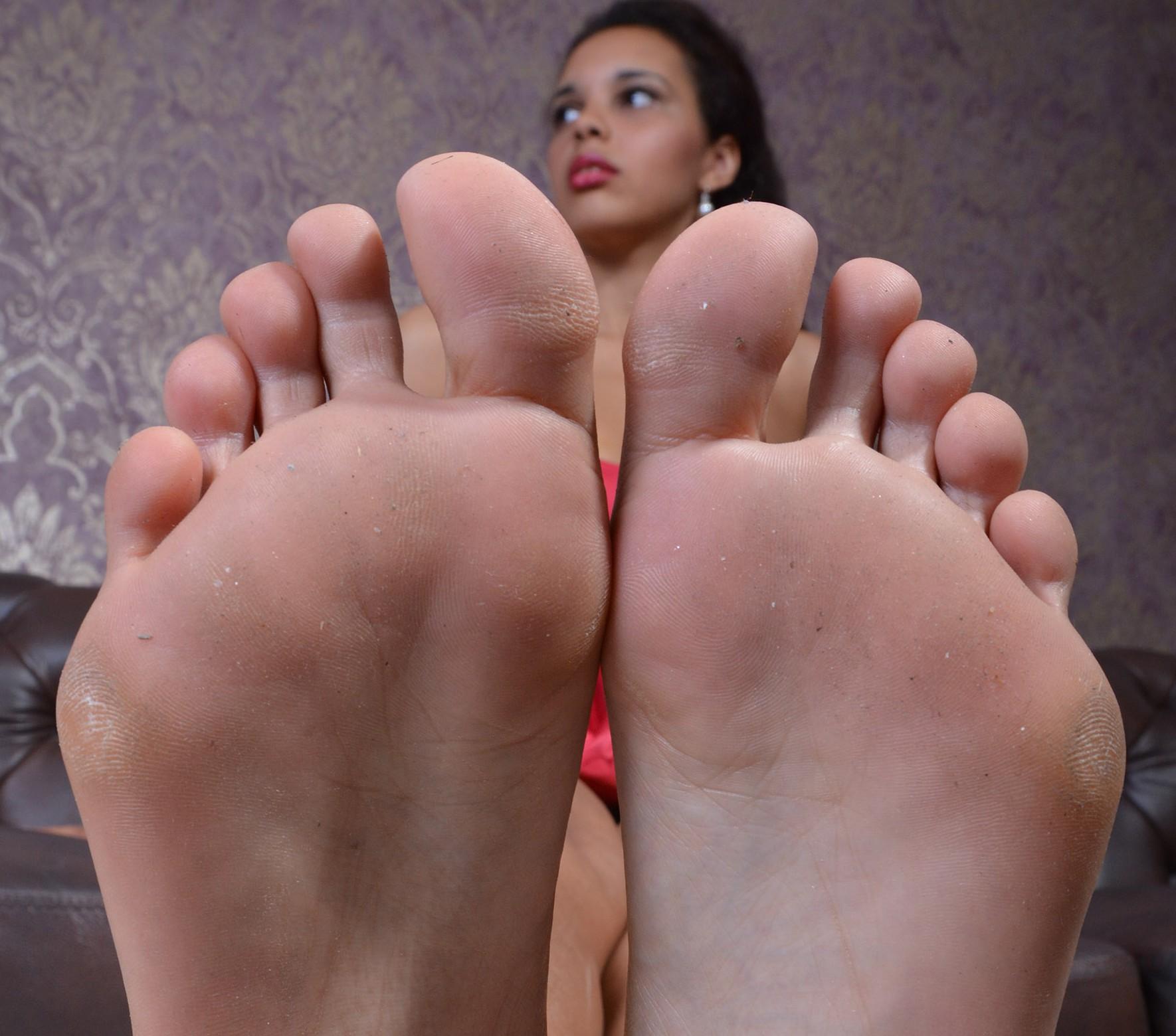 Tashas Füße Größe 40