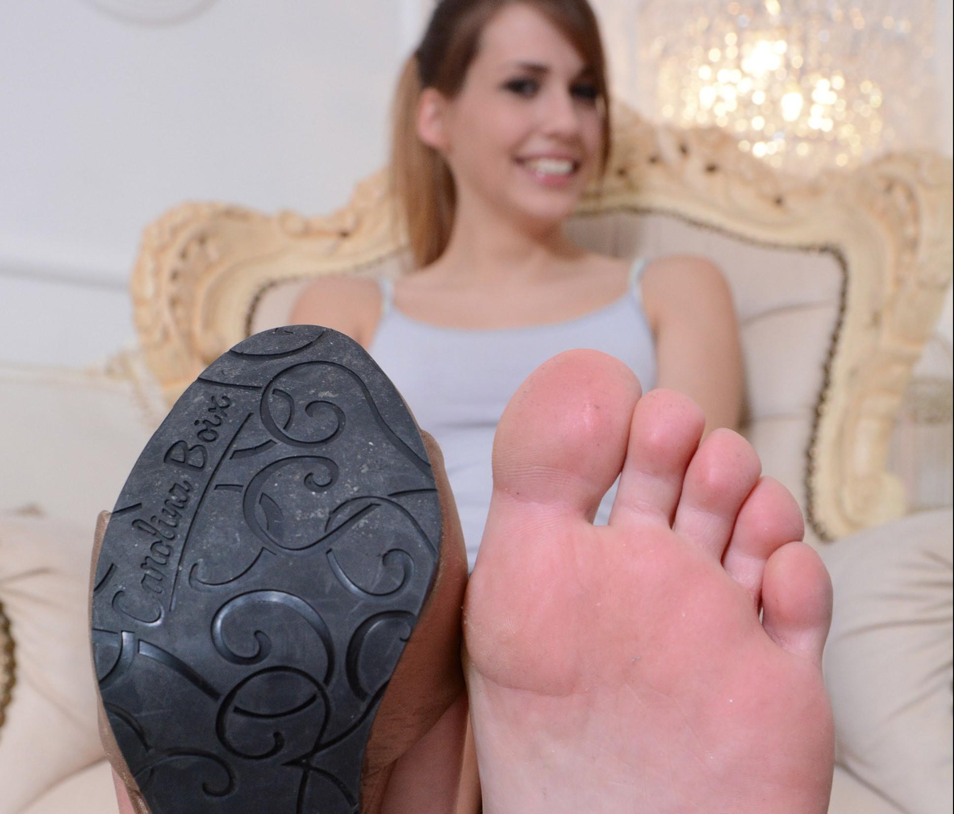 Amys  High Heels und Füße