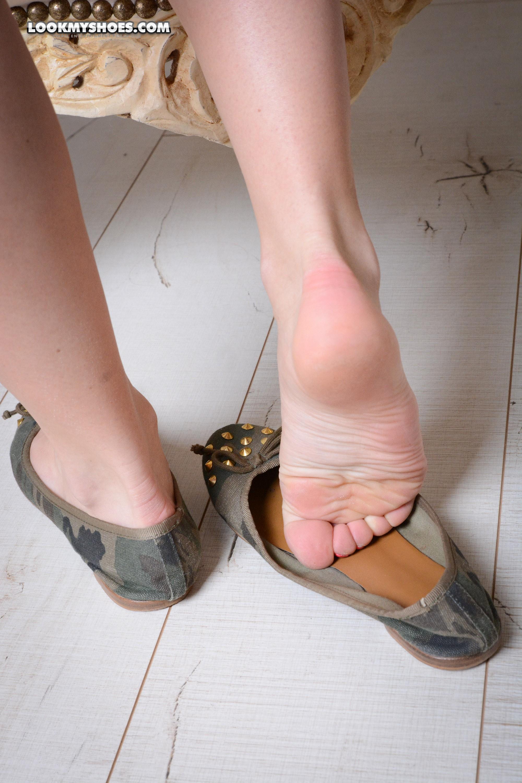 Ballerinas und Füße