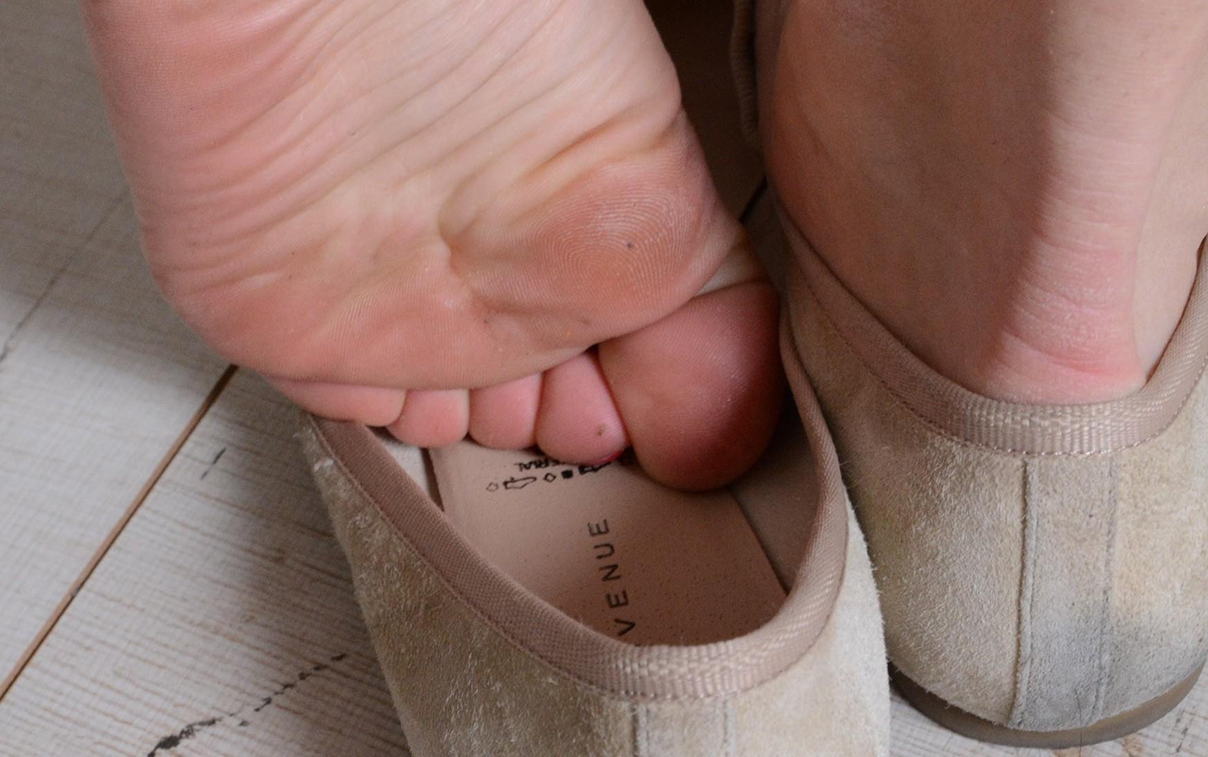 Ballerinas und süße Füße