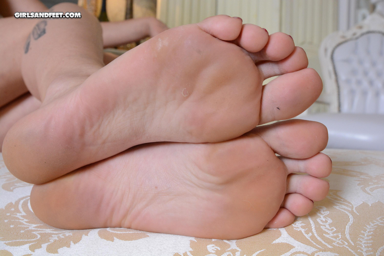 Victorias Füße
