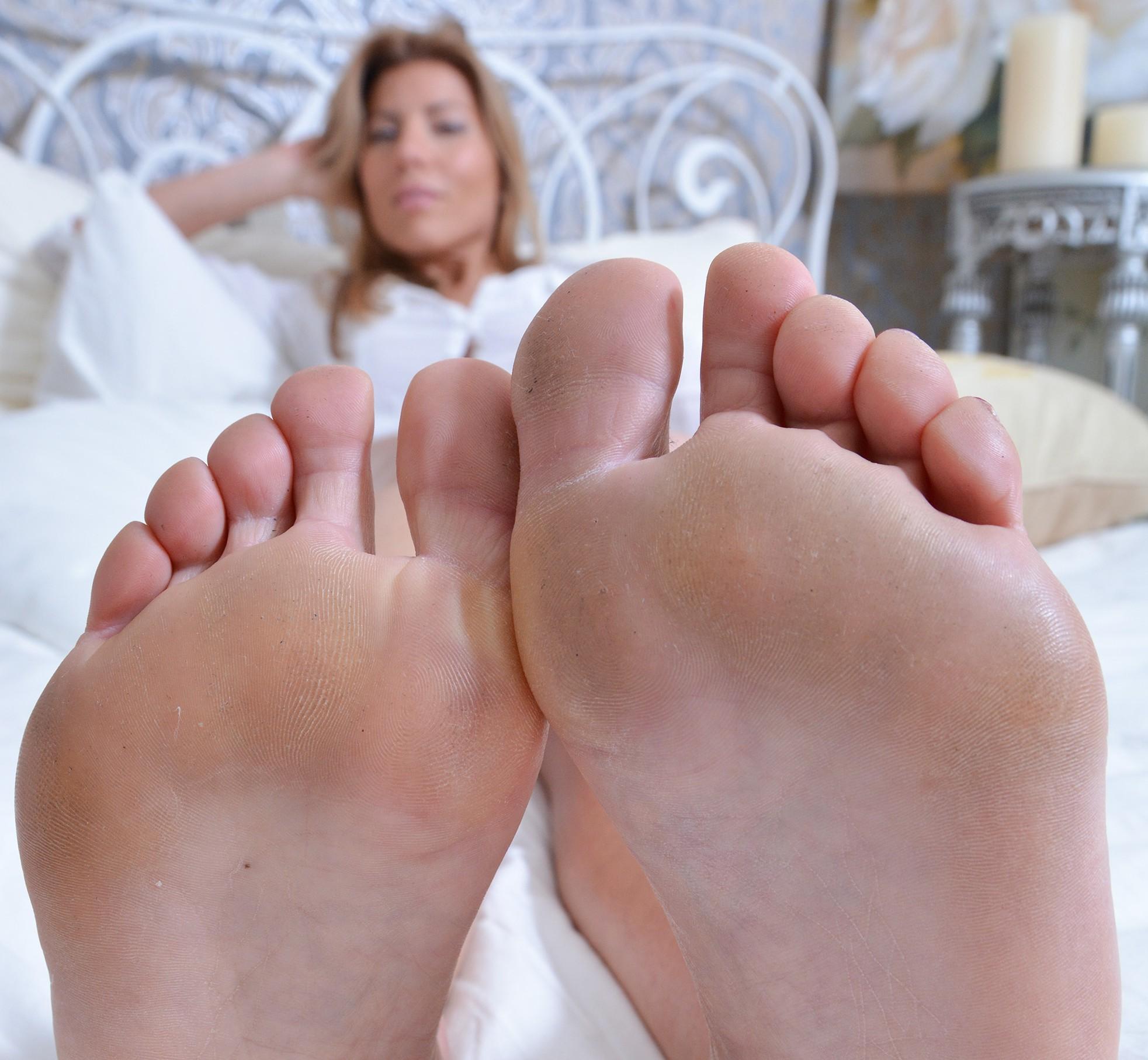 Jolie schöne Füße!