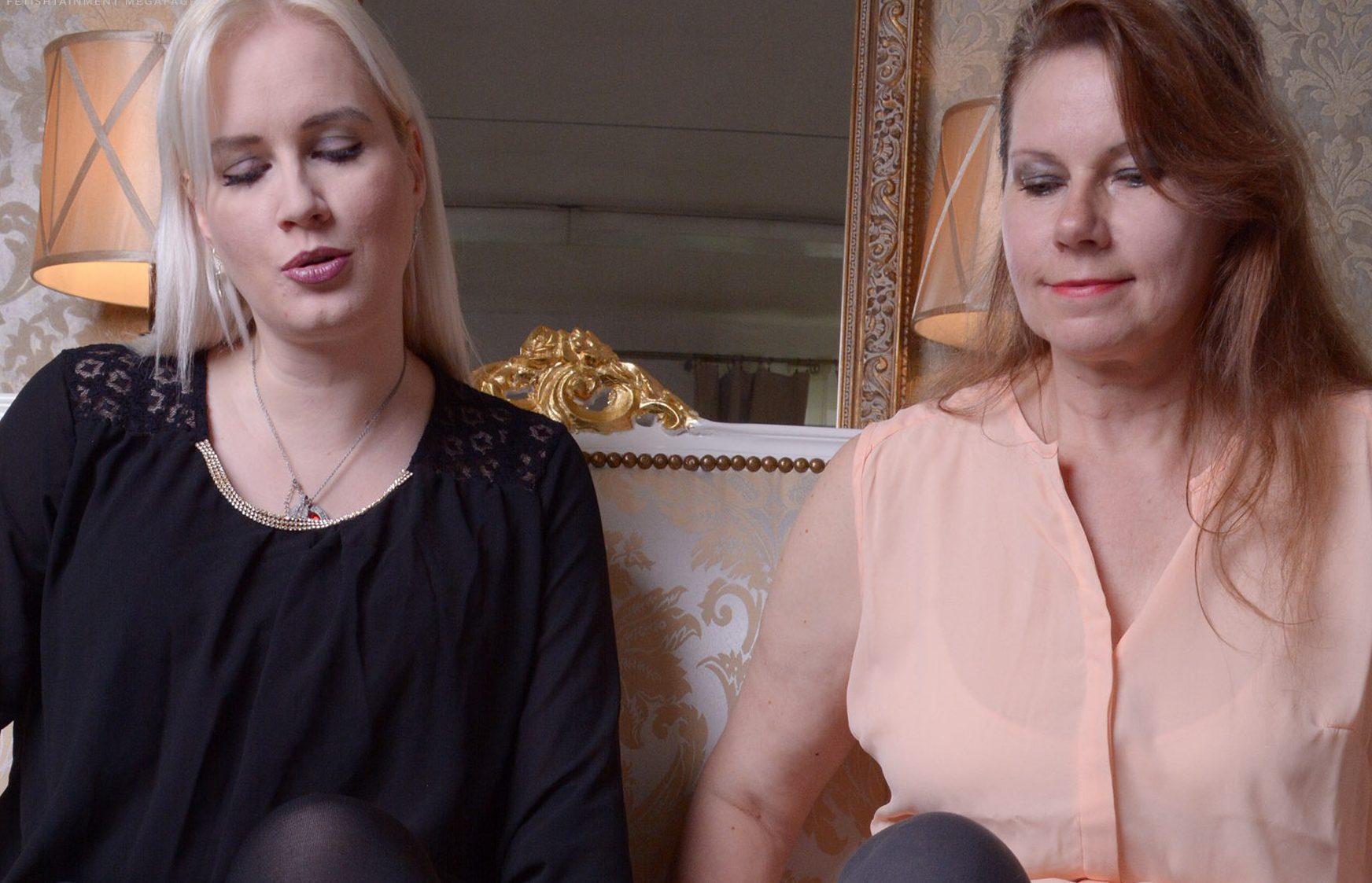Mutter und Tochter machen ihn fertig / Familien Sklave