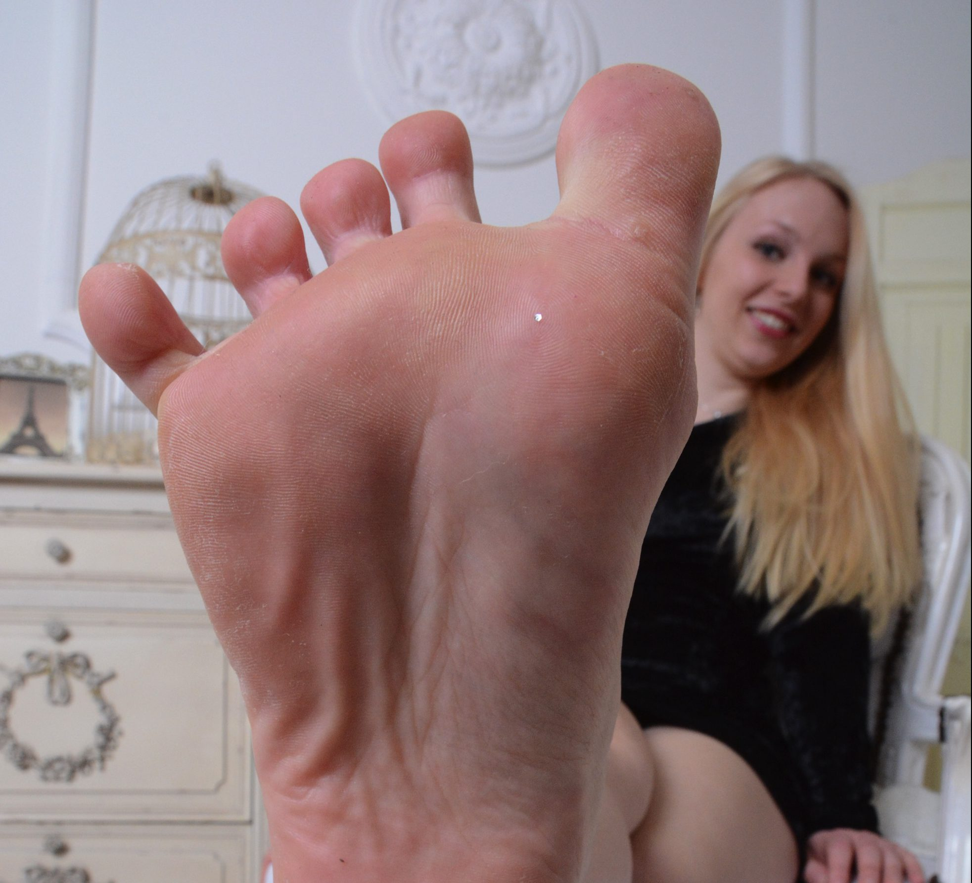 Katharinas Füße