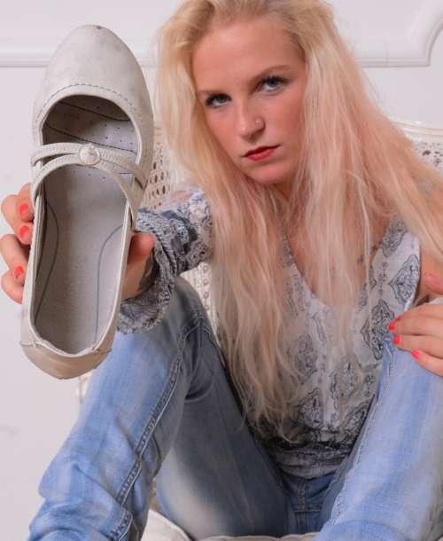 Lady Brianas Füße