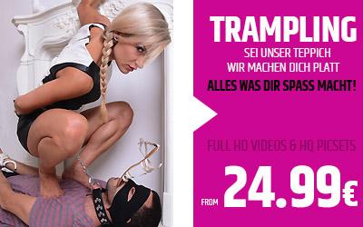 Angebot-trampling